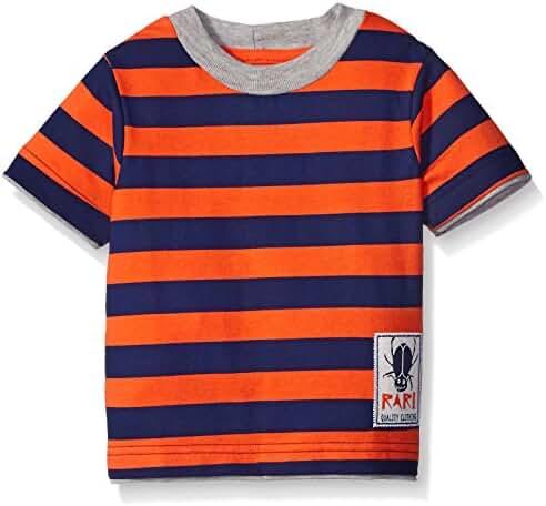 Gerber Graduates Baby Boys' Striped Short Sleeve T-Shirt