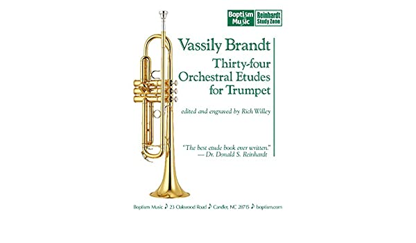 Vassily Brandt: Thirty-four Orchestral Etudes for Trumpet