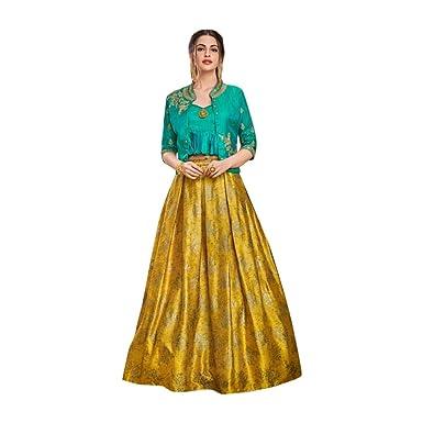 01b4ca4e5e Designer Evening Cocktail wear Satin Silk Jacket style Crop top with ...