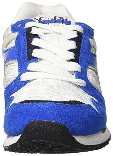 Principessa 4000 Sneaker Ic Del Nero Fuori Adulti Azzurro Nyl Bianco Collo Bassa Unisex bco Diadora Ii RxF6AFa