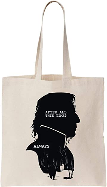 After All This Time Always Algodón Bag Tote Bag: Amazon.es ...