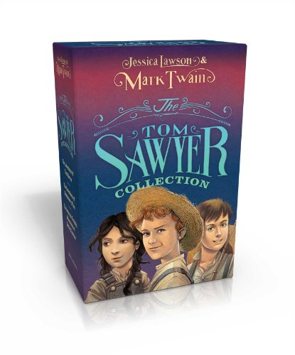 The Tom Sawyer Collection: The Adventures of Tom Sawyer; The Adventures of Huckleberry Finn; The Actual & Truthful Adventures of Becky Thatcher by Simon & Schuster Books for Young Readers (Image #2)