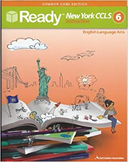 Amazon Com Ready Common Core New York Ccls Grade 6 Ela 2012 05 03 9780760978702 Books