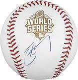 Eric Hosmer Kansas City Royals 2015 MLB World Series Champions Autographed World Series Baseball - Fanatics Authentic Certified