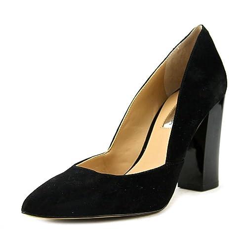 6008b8a5bf9 Amazon.com | INC Eloraa Women's Heels Fashionable Heels Womens Black ...