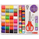 eZthings® Professional Sewing Supplies Variety Sets and Kits for Arts and Crafts (Sewing Supplies + Threads Set)