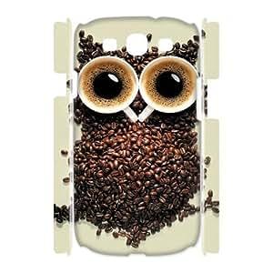 Owl Customized 3D Cover Case for Samsung Galaxy S3 I9300,custom ygtg527863