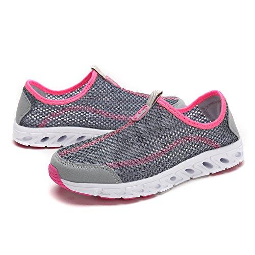 Dream Pairs Zapatillas De Deporte Atléticas Para Mujer Lt.grey-coral
