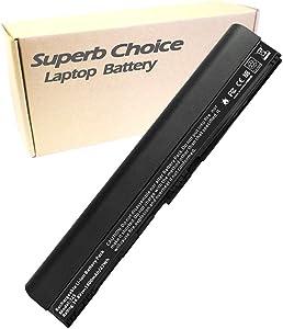 Superb Choice Battery Compatible with ACER AL12A31 AL12B31 AL12B32 AL12X32 Aspire One 756