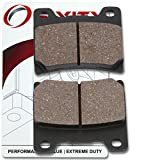 Sixity Rear Organic Brake Pads 1999-2008 Yamaha XVS1100 V Star 1100 Custom Set Full Kit L LC M MC N NC P PC R PC V VC T T-FV Complete