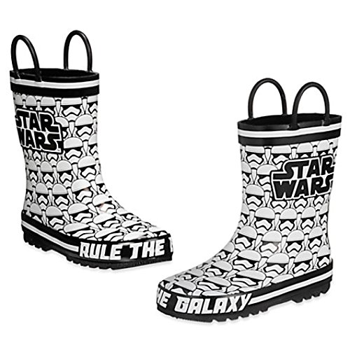 [Star Wars Stormtrooper Rain Boots for kids (10 US toddler)] (Authentic Stormtrooper Costume)