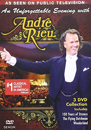 DVD : Andre Rieu - An Unforgettable Evening with Andre Rieu (Slim Pack, 3 Disc)