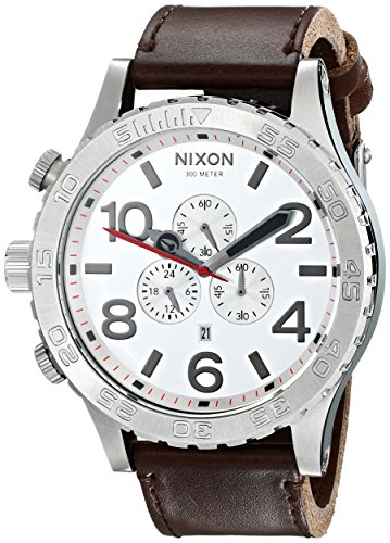 Nixon Men's A1241113 51-30 Chrono Stainless Steel Watch with