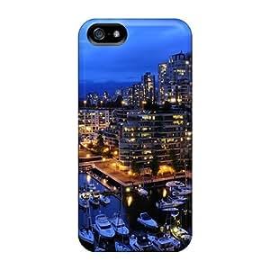 Super Stylish Iphone 5/5s Hybrid Case Cover Silicon Bumper Vancouver Marina