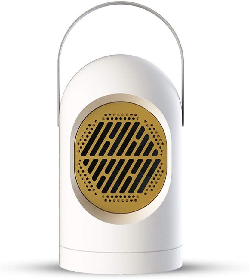 Gpure Vertical Calefactor Ventilador Silencioso 20-30m² Aire Caliente Eléctrico EU 2s Calentamiento Bajo Consumo Calefactor Portátil Termostato Regulable Protección Sobrecalentamiento (Blanco)