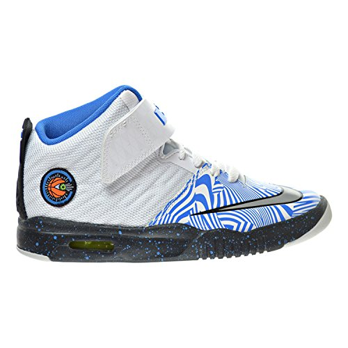 Nike Air Akronite (gs) Bianco / Blu / Argento (5y)