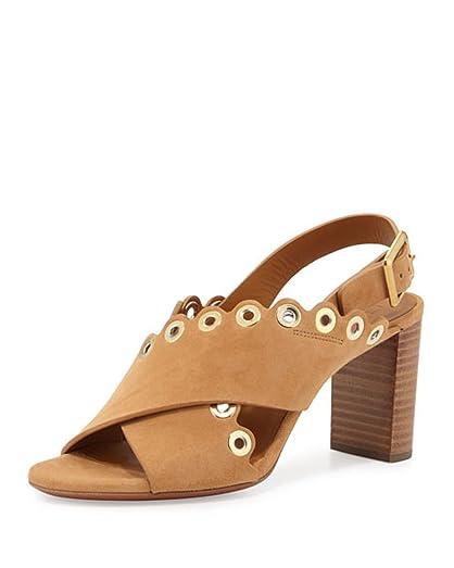 Chloé Studded suede sandals Emg33Czv