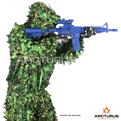 Arcturus 3D Leaf Ghillie Suit (Summer Green, ML)