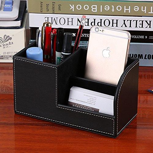Multifunktions-Schreibwaren Aufbewahrungsbox Büro Tischdekoration Stifthalter, weiß B07PXQ2QVC     | Neuheit Spielzeug