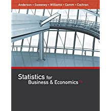 Statistics for Business & Economics (with XLSTAT Education Edition Printed Access Card)