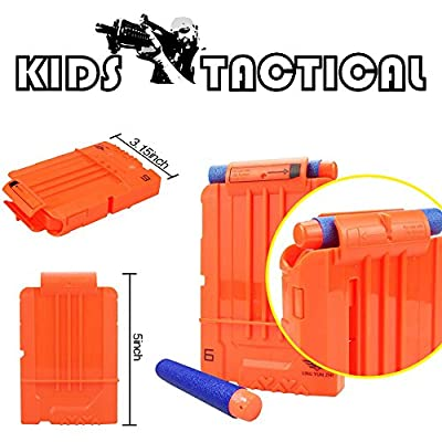 Kids Tactical Vest Kit,Shinemore Tactical Vest Jacket Kit for Nerf Gun N-Strike Elite Series,with 30Pcs Darts Bullets,1Pcs 7-Dart Quick Reload Clips,1Pc 8-Dart Wrist Band, Seamless Face Mark & Goggle: Toys & Games