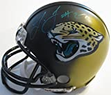 Leonard Fournette, Jacksonville Jaguars, Signed, Autographed, Mini Football Helmet, a COA with the Proof Photo of Leonard Signing Will Be Included