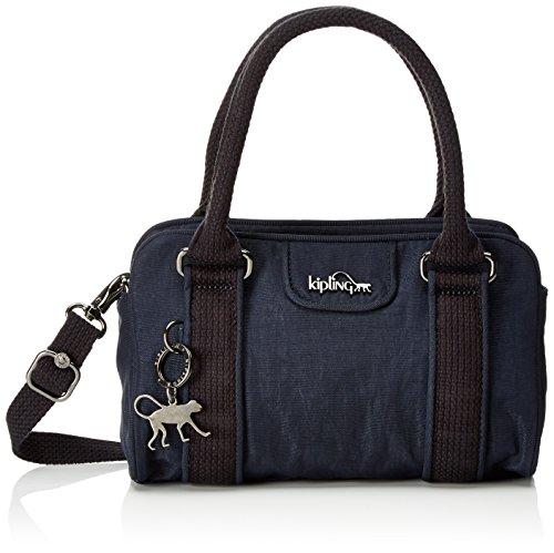 Kipling Bex Mini, Borse a secchiello Donna Blu (Deepest Blue)