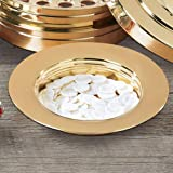 Stacking Bread Plate - Brass Finish