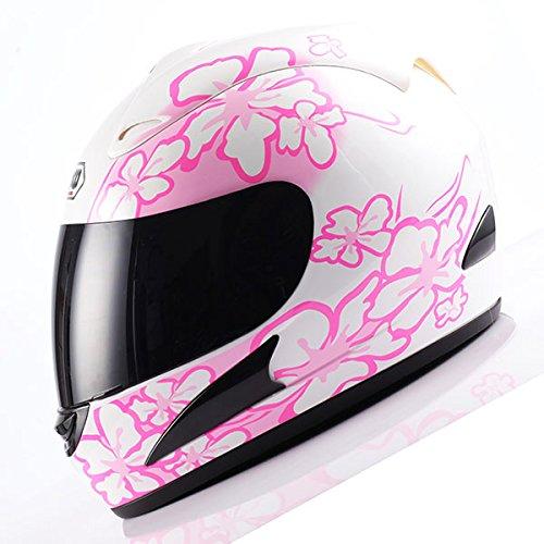 Flower Motorcycle Helmet - 5