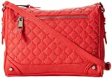 Jessica Simpson Brigitte Cross Body Bag,Fire Red,One Size, Bags Central