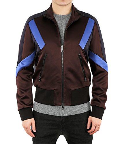wiberlux-neil-barrett-mens-geometric-paneled-zip-up-jacket-s-brown