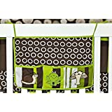 DK Leigh Toy Bag, Pollywog Pond Frog Green, Lime & Brown NEW