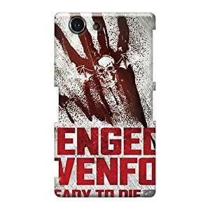 Scratch Protection Hard Phone Covers For Sony Xperia Z3 Mini With Custom Nice Avenged Sevenfold Band A7X Image PhilHolmes