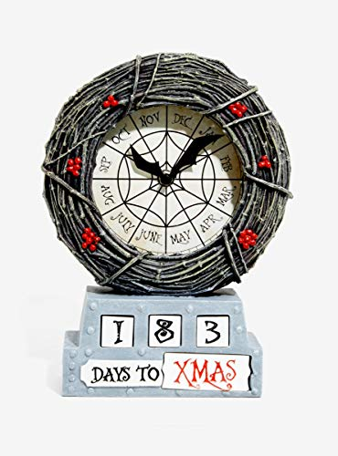 Hot Topic The Nightmare Before Christmas Countdown Table Clock Exclusive -