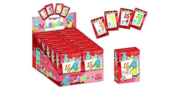 Angel Europa Baraja Infantil Operaciones multiplicar: Amazon.es: Juguetes y juegos