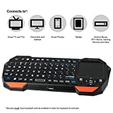 Cheap NEXspark Mira BT1 Bluetooth Mini Keyboard + Touchpad, Wireless with Comfort Grip + Rechargeable Battery