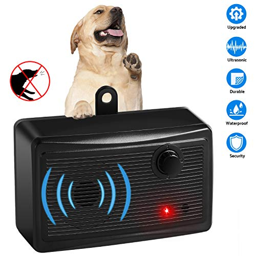 Mini Bark Control Device Outdoor, Anti Barking Deterrent Ultrasonic Dog Bark Control, Sonic Bark Deterrents Silencer Stop Barking Bark Stop Repeller