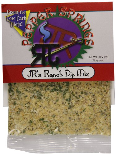 Pepper Dip Mix (Pepper Springs Jr's Ranch Dip Mix, 0.9 Ounce)
