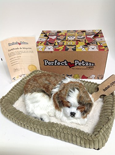 (Perfect Petzzz Huggable Breathing Puppy Dog Pet Bed Shih Tzu by Perfect Petzzz)