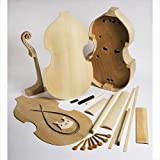 EMS 7 String Bass Viol Kit, Nicholas Bertrand pattern - BUILD YOUR OWN!