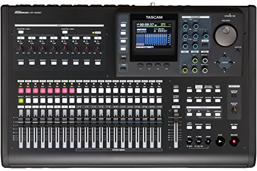 Digital Audio Recording Equipment - Tascam DP-32SD 32-Track Digital Portastudio Recorder