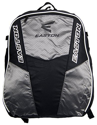 Easton Rampage Bat Pack Backpack - Black/Silver, Model: , Sport & Outdoor