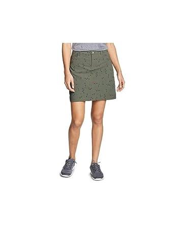 3a5e787262 Eddie Bauer Women's Horizon Skort - Print at Amazon Women's Clothing ...