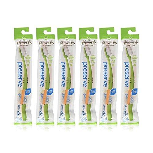 Preserve Soft Bristle Adult Toothbrush -- 6 per case. ()