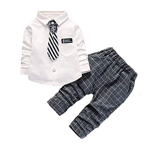 Kids Party Clothing - Toddler Baby Boys Clothes Set Long