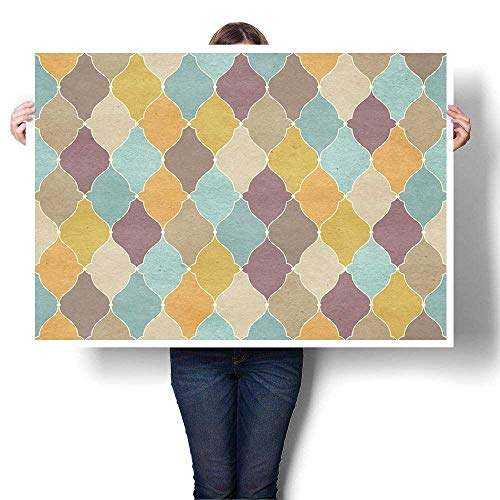 Vintage Wallpaper Print Shirt - SCOCICI1588 Wall Art Canvas Prints Vintage Wallpaper Oil Painting,20