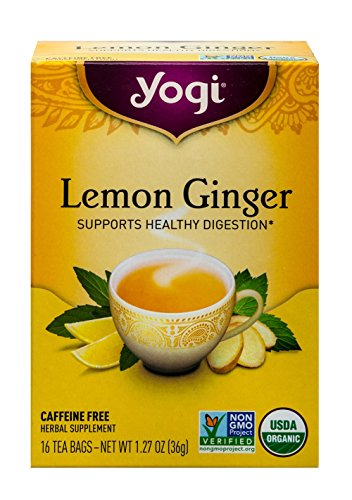 Yogi Tea Lemon Ginger Tea Bags 16 ea (Yogi Ginger)