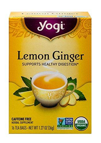 Yogi Tea Lemon Ginger Tea Bags 16 ea