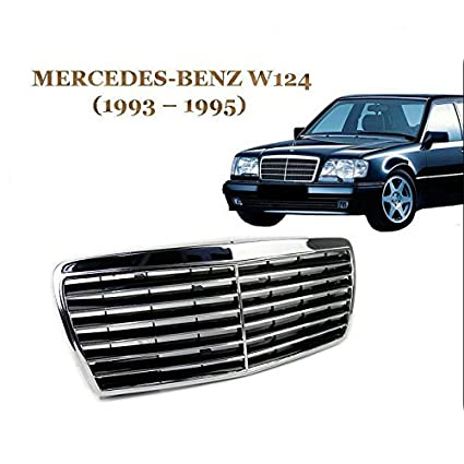 82468119385 Amazon.com: For E~Class Mercedes-Benz W124 93-95 Masterpiece Chrome Front  Grille Mack Grill: Automotive