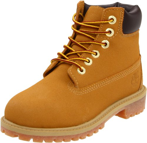 (Timberland 6 Inch Premium Scuff Proof Boot (Toddler/Little Kid/Big Kid),Wheat Scuff Proof,4.5 M US Toddler)